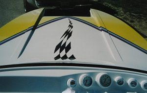 speed boat front end