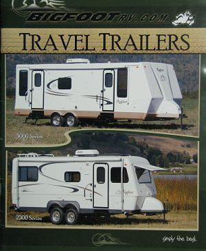 Big Foot travel trailers