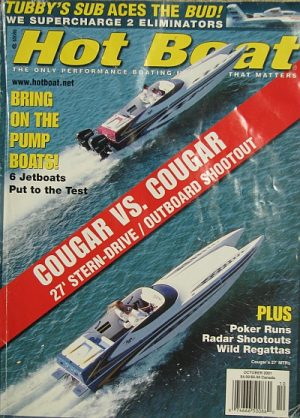 Hot Boat Cougar