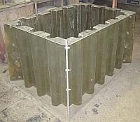 resin transfer molds